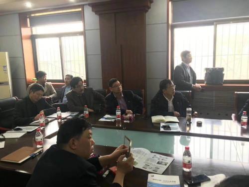 3月26日下午参加了由雄安新区生态环境局组织的安新县淀边村环境整治小型污水设备供应商对接会