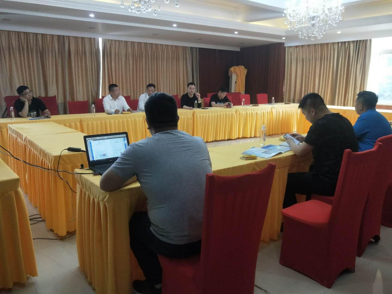 北京大学CA198班同学莅临我公司参观指导