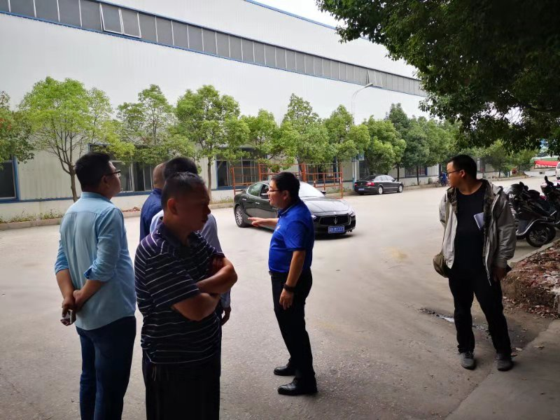 欢迎虞城县第三污水处理厂领导莅临指导
